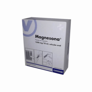 Magnesona  1500 mg/10 mL x 20 sol oral amp