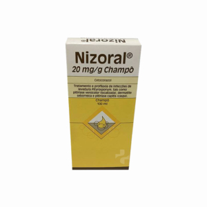 Nizoral  20 mg/g-100 mL x 1 champô frasco